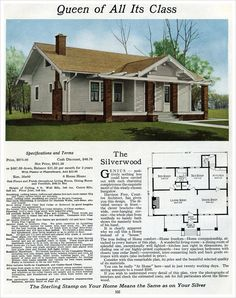 1916 Sterling Homes: The Silverwood