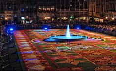 Le Tapis des Fleurs 2010. Photo credit: Avi, Gaston Batistini, Labo River, Michel Block.