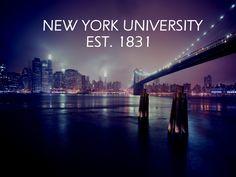 NYU Pursuing Excellence Since 1831 NewYorkUniversity City Wallpaper World