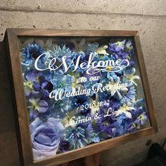 100均材料だけ!ウェルカムボードの作り方♪ LIMIA (リミア) Wedding Tree Guest Book, Guest Book Tree, Tree Wedding, Our Wedding, Wedding Flowers, Wedding Welcome Board, Welcome Boards, Diy And Crafts, Frame
