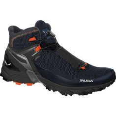 Salewa - Ultra Flex Mid GTX - Walking boots ➽ Dispatch within - Buy online now! Vegan Hiking Boots, Best Hiking Shoes, Trail Running Shoes, Hiking Boot Brands, Mens Walking Boots, Hiking Pants, Tennis Clothes, Boots Online, Snow Boots