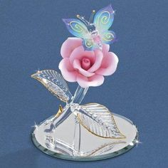 Butterfly Glass Figurine