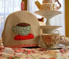 I love seeing this little tea cozy in my kitchen!