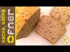 Glutenfreies Kastenbrot | Backe backe Ofner - YouTube Banana Bread, Food And Drink, Desserts, Youtube, Rolled Oats, Food Items, Food Food, Gluten Free Breads, Dessert Ideas