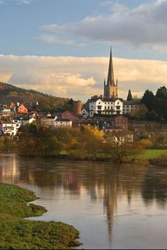Ross-on-Wye, England. One of my favourite places.