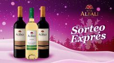 Sorteo Expr�s Pack de botellas de Vi�a Albali