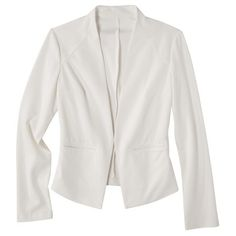 Merona® Women's Ponte Collarless Jacket - Assorted Colors