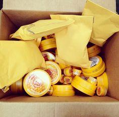 @Matty Chuah Body Shop USA getting ready to ship out the Honeymania prizes!
