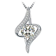 """Necklace Christmas Gift with Exquisite Package 925 Sterling Silver Pendant Necklace J.Rosée Fine Jewelry for Women """"The Eye of Lover"""" 18'' 2"""" Extender Note: This content contains an affiliate link whic provides compensation to us at zero extra cost to you.   Price: $25.87  Necklace Christmas Gift with Exquisite Package 925 Sterling Silver Pendant Necklace J.Rosée Fine Jewelry for Women """"The Eye of Lover"""" 18'' 2"""" Extender  Brand: J.Rosée  Label: J.Rosée  Manufacturer: J.Rosée  Publisher…"""