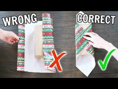 Life-Changing Gift Wrapping Hacks : Want some tips for wrapping your Christmas presents? Struggling to wrap all your gifts? My life hacks for wrapping are gunna change yo life! Learn how to use… Christmas Gift Wrapping, Xmas Gifts, Craft Gifts, Holiday Fun, Christmas Holidays, Christmas Hacks, Christmas Gift Ideas, Fun Christmas Presents, Christmas 2019