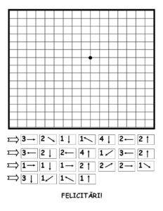 Desenează după indicații - Elefant Preschool Education, Preschool Worksheets, Dotted Drawings, Computational Thinking, Graph Paper Art, Alphabet Coloring Pages, Coding For Kids, Math Games, Kids Learning