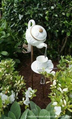 Would be cute in a fairie garden