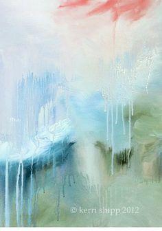Heaven Coming Down #painting #kerrishipp