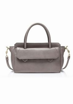 Grey skies are gonna clear up - J. Crew Gambrell satchel ($325.00)