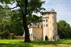 Zamek w Zawadzie. Historia jego sięga wieku XVI, kiedy to ród Ligęzów wzniósł okazałe fortalicjum.  W XIX wieku Anastazy Raczyński herbu Nałęcz przebudował zamek. Obecnie stanowi własność prywatną.