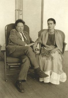 Frida Kahlo & Diego Rivera: Muses, Lovers  | The Red List