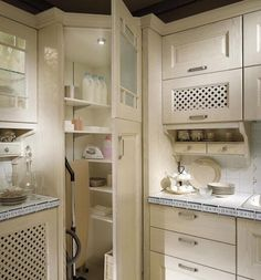 Kitchen Corner Storage Cabinet Laundry Room Ideas Kitchen corner pantry cabinet laundry rooms ideas - Own Kitchen Pantry Kitchen Corner Cupboard, Kitchen Pantry Design, Pantry Cupboard, Kitchen Pantry Cabinets, Laundry Room Cabinets, Kitchen Cabinet Organization, Laundry Rooms, Cupboard Ideas, Corner Cabinets