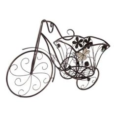 Gerson Tricycle Plant Stand Flower Holder, Metal Art, Home Accessories, Lawn, Planters, Flowers, Arbors, Ebay, Garden Ideas