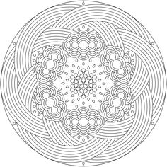 Printable Coloring Pages : Mandalas To Print And Color For Adults 6 Mandalas To Print And Color For Adults Color. Print. Adults.