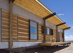 Design Build Bluff has built yet another sustainable, quasi-vernacular home on the Navajo Reservation, this time giving mother of four Suzie Whitehorse a whole new lease on life.