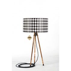 Lampa stołowa Retro Tripod Geometric - JABBA Design Tripod Lamp, Retro, Lighting, Design, Home Decor, Decoration Home, Room Decor, Lights