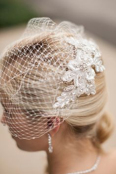 Giveaway ~ Win a bridal hairpiece from Mariell