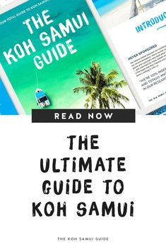 The ultimate guide to Koh Samui, Thailand – Resources and post archives for The Koh Samui Guide. | #travel #thailand #kohsamui Samui Thailand, Koh Samui, Thailand Travel Guide, Asia Travel, Thai Islands, Responsible Travel, Singapore Travel, Koh Tao, Guide Book