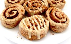 If you're cutting back on oil and sugar, you can still have these cinnamon rolls for breakfast!