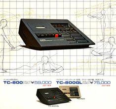 TC-800 TC-800GL YAMAHA STEREO CASSETTE DECK Hifi Audio, Yamaha, Music Instruments, Deck, Retro, Design, Japan, Inspiration, Products