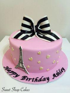 Amazing Photo of Paris Themed Birthday Cake Paris Themed Birthday Cake Paris Themed Birthday Cake Cakecentral Paris Birthday Cakes, Makeup Birthday Cakes, Paris Themed Cakes, Paris Themed Birthday Party, Sweet 16 Birthday Cake, White Birthday Cakes, Paris Cakes, Cupcake Birthday Cake, Themed Birthday Cakes