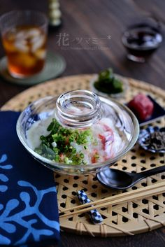 Japanese Rice Porridge Japanese Food Dishes, Japanese Food Sushi, Japanese Sweets, Japanese Rice, Sashimi, Asian Recipes, Ethnic Recipes, Thing 1, International Recipes