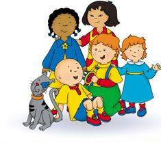 Caillou....awful. Just Awful.