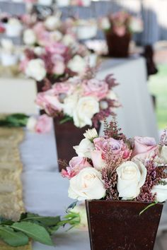This would even be beautiful in your home after the wedding, maybe a gift to the moms and sisters. Mom And Sister, Wedding Flowers, Sisters, Table Decorations, Gifts, Beautiful, Home Decor, Presents, Decoration Home