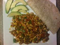 mexican lunch :) yum! whip up in under 10 minutes