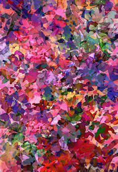 Floral Confetti by Pamela Gatens Textile/Surface Design ~ 19 x 13 www. pamelagatens.com