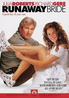 Directed by Garry Marshall. With Julia Roberts, Richard Gere, Joan Cusack, Hector Elizondo. A reporter is assigned to write a story about a woman who has left a string of fiances at the altar. Favorite Julia Roberts movie ever. See Movie, Movie List, Movie Tv, Old Movies, Great Movies, Julia Roberts Movies, Romantic Movie Quotes, Runaway Bride, Films Cinema