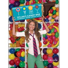 """Read """"Dylan's Candy Bar Unwrap Your Sweet Life"""" by Dylan Lauren available from Rakuten Kobo. Just like stepping into Dylan's Candy Bar stores—a modern-day Willy Wonka–like escape—opening this book reveals a surpri. Dylan's Candy, Best Candy, Favorite Candy, Pink Candy, Candy Corn, Candy Theme, Candy Land, Book Bar, Classic Candy"""