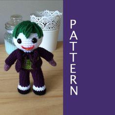 Joker Amigurumi Pattern by 53Stitches on Etsy, $6.00