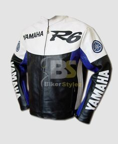 Yamaha R6 Blue & White MOTORCYCLE Outfit