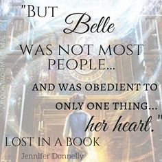 Bookworm Mama: Beauty and the Beast: Lost in a Book - An Enchanting Original Story - Jennifer Donnelly