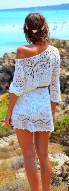 Crochet summer trend #summer #luxury #style
