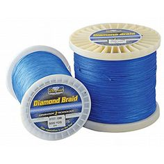 Momoi's Diamond Braid - 100lb. 2500yd. Offshore Blue Hollow Core -- You can get more details by clicking on the image.
