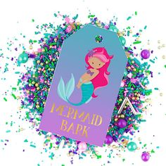 31 Best Free Mermaid Party Printables Images Party Printables