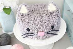 Pusheen Birthday, Birthday Cake For Cat, First Birthday Parties, First Birthdays, Kitty Party, Cat Cupcakes, Animal Cakes, Themed Cakes, Party Cakes