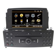 """Free Shipping 7"""" Car CD DVD Player GPS Radio For Mercedes Benz C Class C200 C180 W204 2008 2009 2010 2011 2012 2013 With RDS"""
