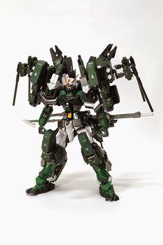 MG 1/100 Gundam Astray Green Frame and Gear - Custom Build