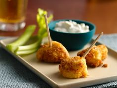 Buffalo Chicken Bites with Dipping Sauce