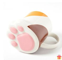 Paw Ceramic Mugs