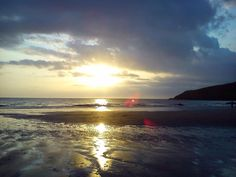 Church Bay, Anglesey, North Wales, UK. Brilliant camping.