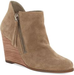 Jessica Simpson Carnivela Wedge Booties Women's Shoes. Jessica Simpson fashions. I'm an affiliate marketer. When you click on a link or buy from the retailer, I earn a commission. Wedge Heel Boots, Bootie Boots, Shoe Boots, Women's Shoes, Suede Booties, Ankle Booties, Jessica Simpson Boots, Grey Wedges, Beige